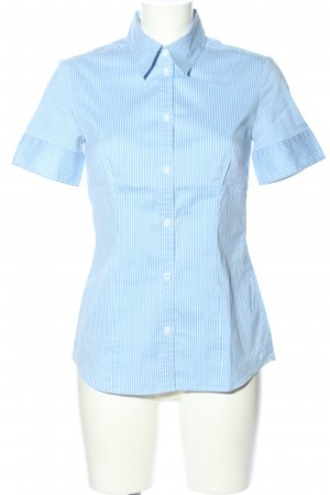s.Oliver Hemd-Bluse blau-weiß Streifenmuster Business-Look