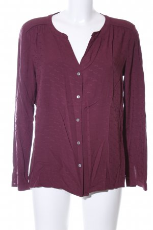 s.Oliver Hemd-Bluse rot Allover-Druck Business-Look