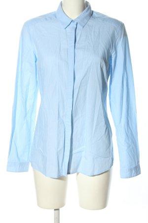 s.Oliver Hemd-Bluse blau Streifenmuster Business-Look