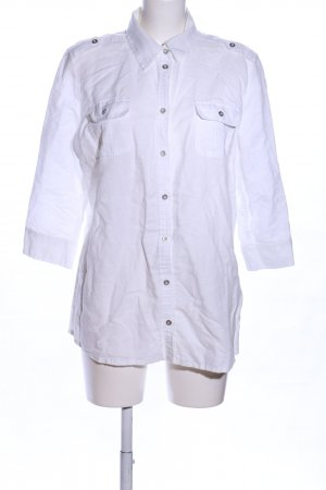 s.Oliver Hemd-Bluse weiß Casual-Look