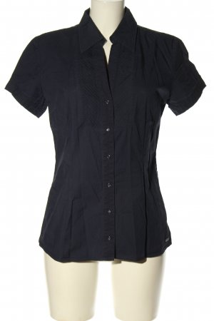 s.Oliver Hemd-Bluse schwarz Casual-Look