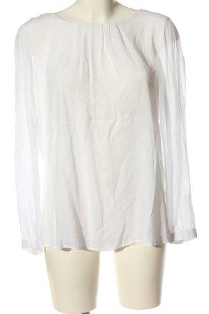 s.Oliver Koszulowa bluzka biały W stylu biznesowym