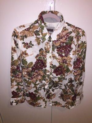 S Oliver Hemd mit Blütenmuster 40 florale Impressionen