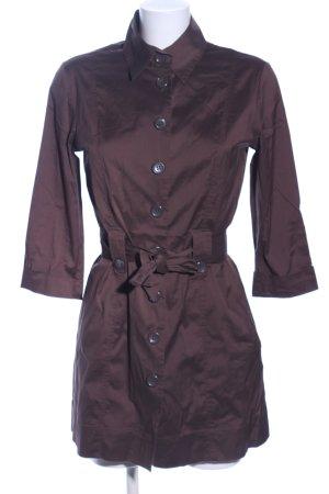 s.Oliver Hemdblusenkleid bronzefarben Business-Look