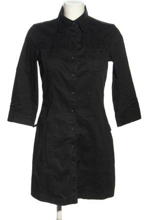 s.Oliver Robe chemise noir style d'affaires