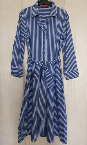 s.Oliver Shirtwaist dress white-steel blue