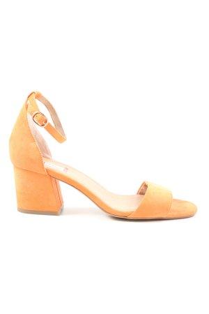 s.Oliver High Heel Sandaletten hellorange Elegant