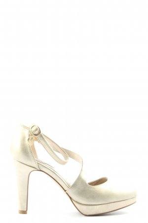 s.Oliver High Heels creme Casual-Look