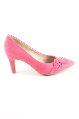 s.Oliver Tacco alto rosa elegante