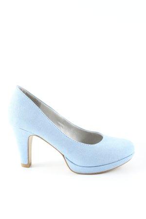 s.Oliver High Heels blau Casual-Look