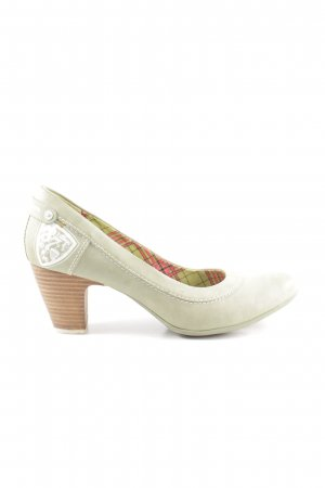 s.Oliver High Heels grün Casual-Look