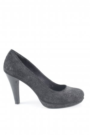 s.Oliver High Heels hellgrau Business-Look