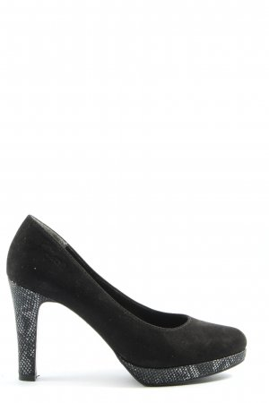 s.Oliver High Heels schwarz Casual-Look