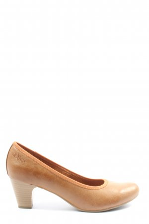 s.Oliver High Heels braun Casual-Look