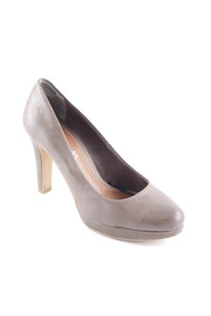 s.Oliver Tacco alto marrone-grigio elegante