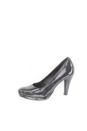 s.Oliver High Heels Größe 41 neuwertig schwarz
