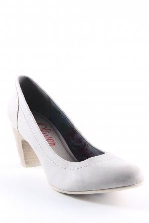 s.Oliver High Heels hellgrau Casual-Look