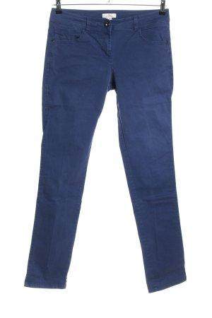 s.Oliver High-Waist Hose blau Casual-Look