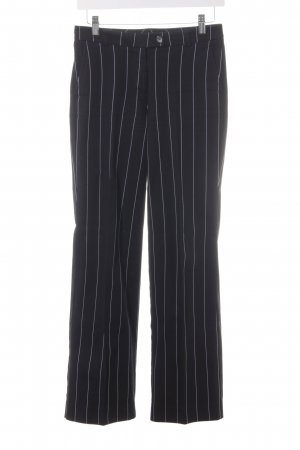 s.Oliver High-Waist Hose schwarz-weiß Casual-Look