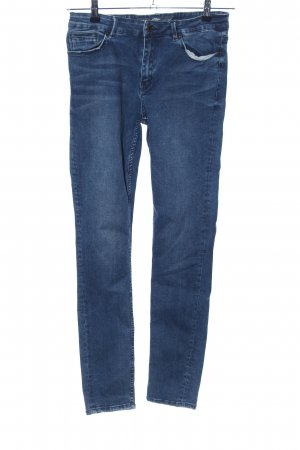 s.Oliver Hoge taille jeans blauw casual uitstraling