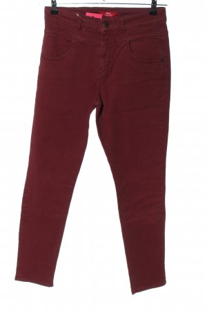 s.Oliver High Waist Jeans rot Casual-Look