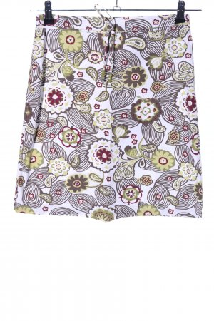s.Oliver High Waist Rock Blumenmuster Casual-Look
