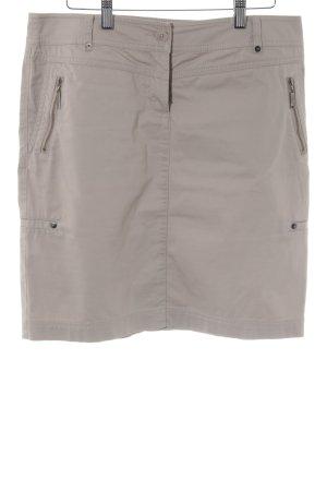 s.Oliver High Waist Rock beige Casual-Look