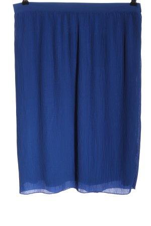 s.Oliver High Waist Rock blau Elegant