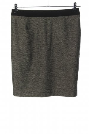 s.Oliver High Waist Rock hellgrau meliert Casual-Look
