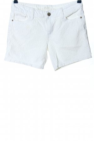s.Oliver High-Waist-Shorts weiß Casual-Look
