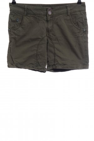 s.Oliver High-Waist-Shorts khaki Casual-Look