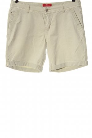 s.Oliver High-Waist-Shorts wollweiß Casual-Look