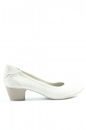 s.Oliver High-Front Pumps white casual look