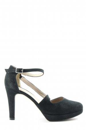 s.Oliver Hochfront-Pumps schwarz Business-Look