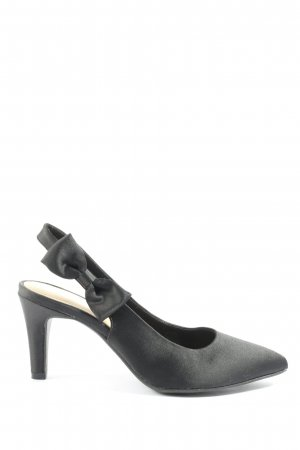 s.Oliver Slingback-Pumps schwarz Business-Look