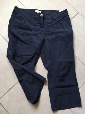 s.Oliver Hose 3/4 Länge marineblau Größe 38
