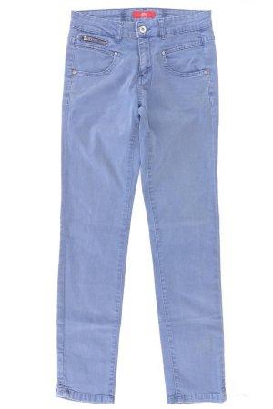 s.Oliver Hose Größe 34 blau aus Baumwolle