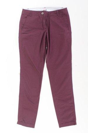 s.Oliver Trousers lilac-mauve-purple-dark violet cotton