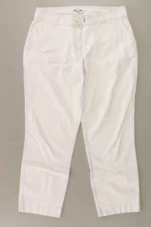 s.Oliver Hose Größe 38 weiß aus Baumwolle