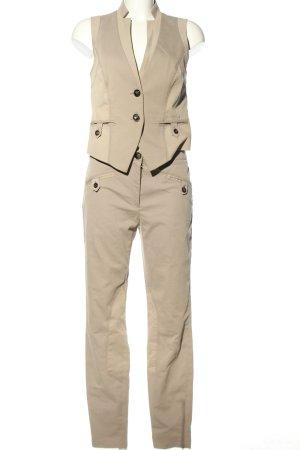 s.Oliver Tailleur pantalone crema stile professionale