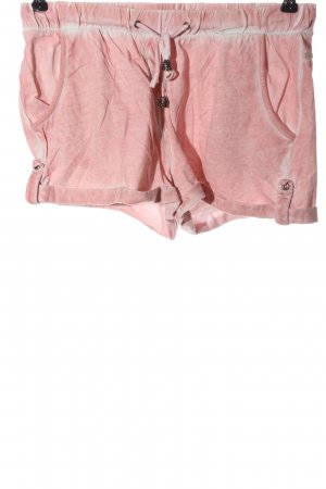 s.Oliver Hot Pants pink-weiß Casual-Look