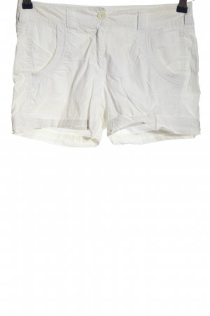 s.Oliver Hot pants bianco stile casual