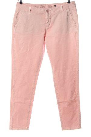 s.Oliver Spodnie biodrówki różowy W stylu casual