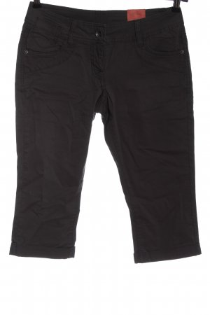 s.Oliver Low-Rise Trousers black casual look