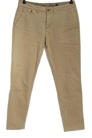 s.Oliver pantalón de cintura baja blanco puro look casual