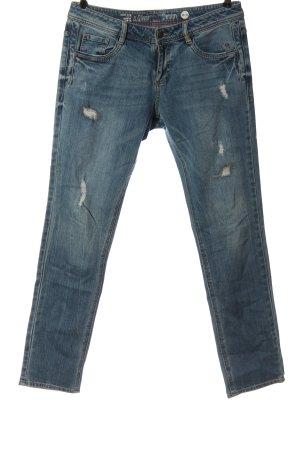 s.Oliver Jeans vita bassa blu stile casual