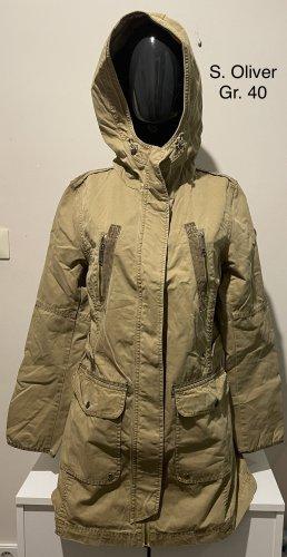 s.Oliver Between-Seasons Jacket sand brown