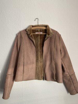 s. Oliver (QS designed) Giacca di pelliccia multicolore