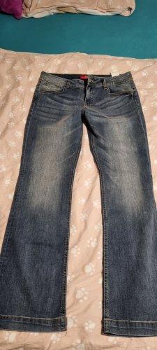 s. Oliver (QS designed) Pantalón de campana azul