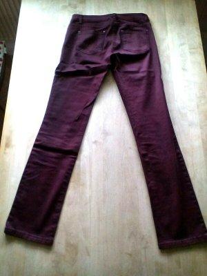 S.OLIVER Jeans, dunkelrot/bordeaux, Gr 36, LONG, chic